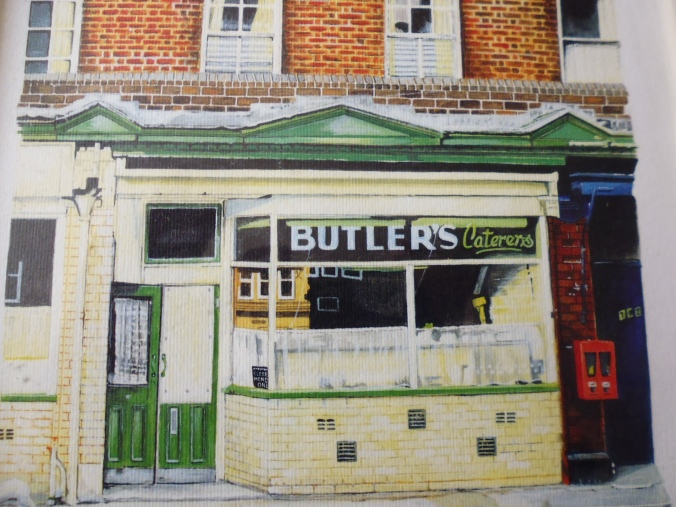 Butler's on Broad Lane - a drawing by Patrick Smith
