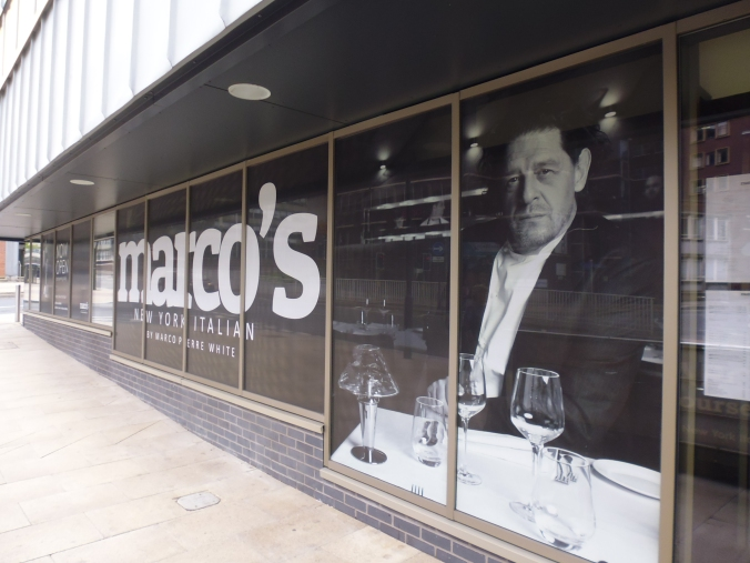Marco's of Sheffield - a glowering presence